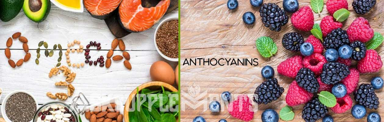 Omega 3s and Anthocyanins - best vitamin for high blood pressure